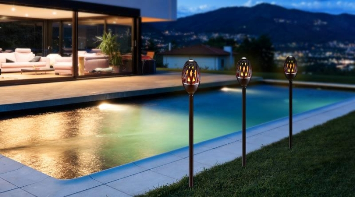 FLAMMELAMPE LED, HOMELINE 220011